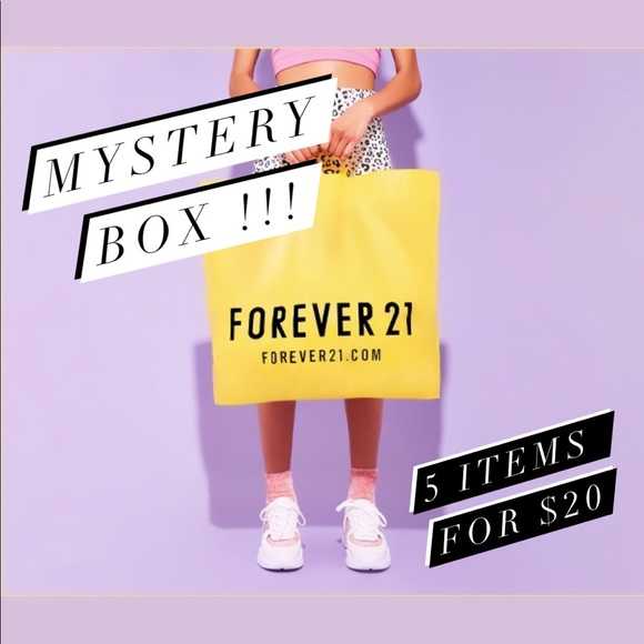 Forever 21 Other - 💫F21💫5 for $20🔮MYSTERY BOX🔮